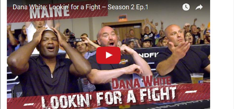 WATCH: Dana White: Lookin' for a Fight – Season 2 Premiere
