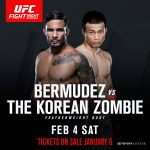 UFC Fight Night 104 - Dennis Bermudez vs. Chan Sung Jung