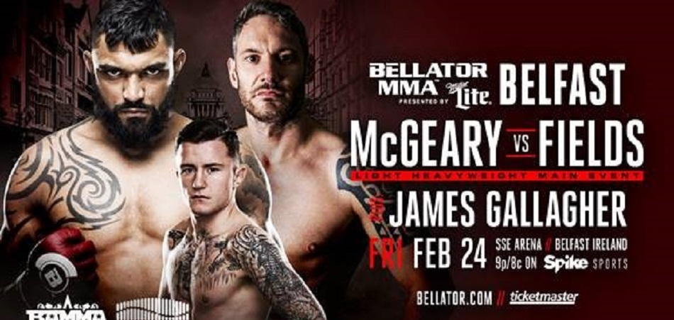 Bellator Heads Back to Europe With a New Event Feb. 24 at Belfast's SSE Arena