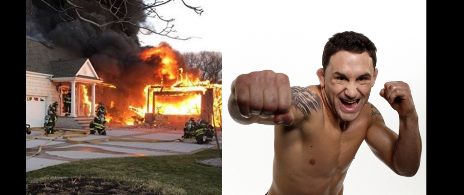 UFC star Frankie Edgar's parent's home burns, no one hurt