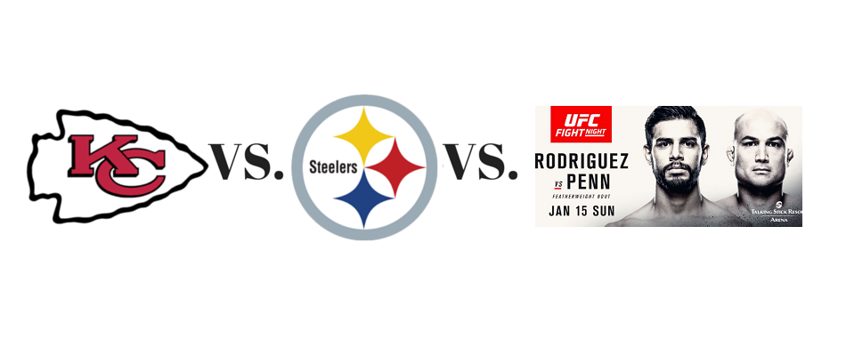 Will Steelers-Chiefs time change impact UFC Phoenix ratings?
