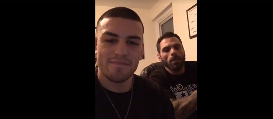 """Lou Giordano of Loutrition and Jose """"Shorty"""" Torres Talk Nutrition and Fight Plans"""