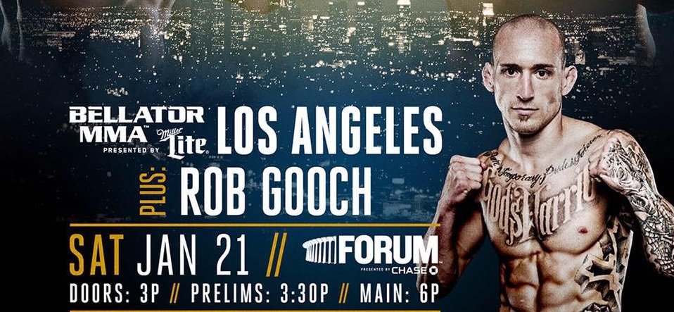 Rob Gooch Makes Promotional Debut at Bellator 170