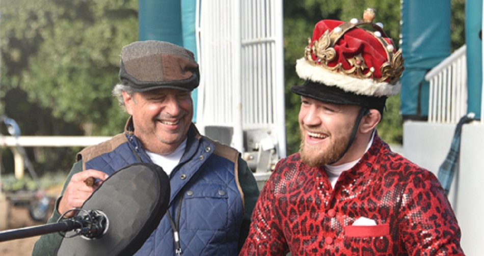 WATCH: Conor McGregor announces he will be jockey in horse race