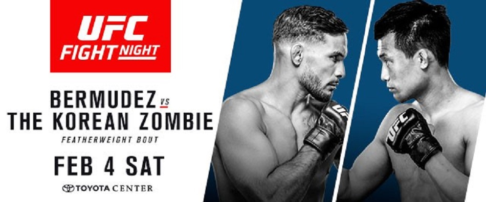 UFC Fight Night Houston: Bermudez vs. The Korean Zombie On-Sale Friday