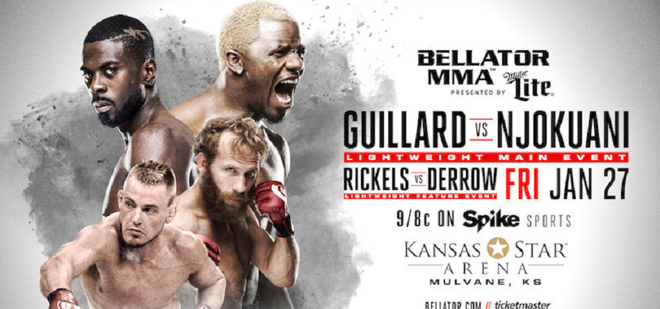Melvin Guillard-Chidi Njokuani Set For Main Event of Bellator 171 on January 27