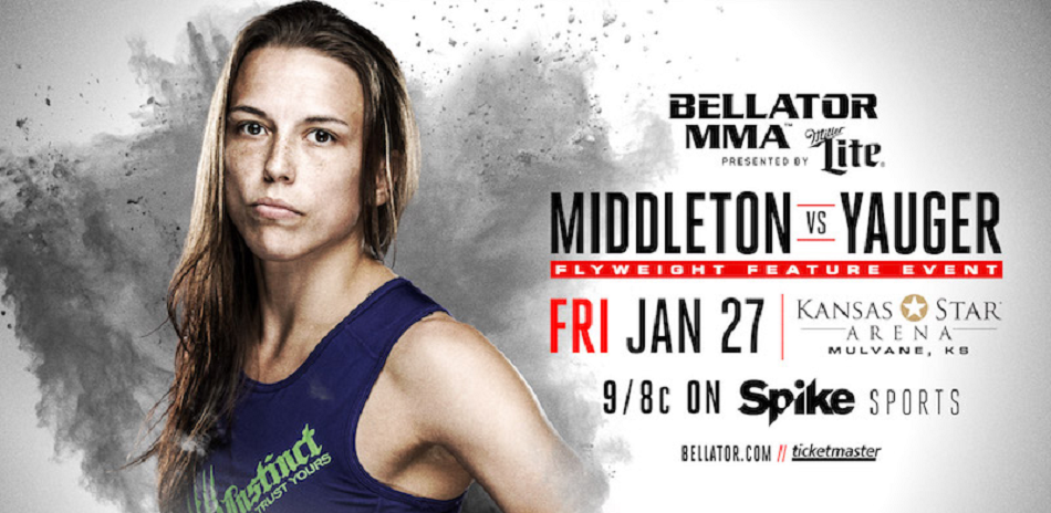 A.J. McKee, Jessica Middleton Set For Main Card Action at Bellator 171 on Jan. 27