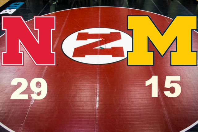 NCAA Wrestling: 5 Nebraska def. 13 Michigan 29-15