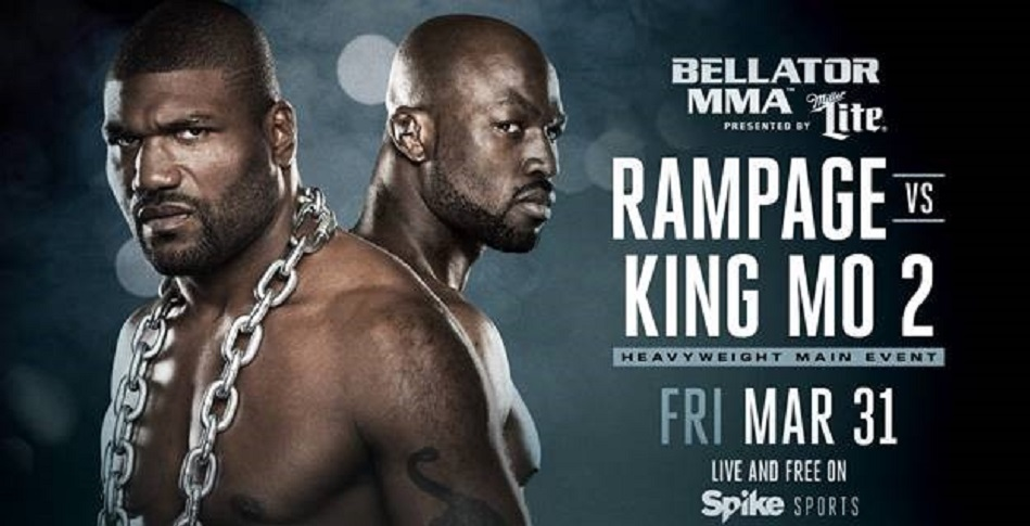 Rampage and King Mo Run it Back on March 31 - Rematch Set