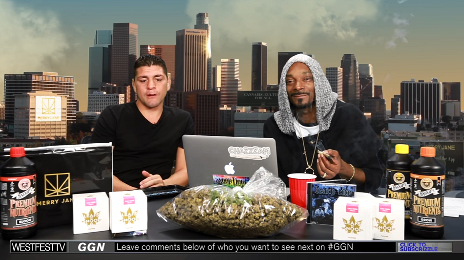 WATCH: Nick Diaz talks with Snoop Dogg about suspension