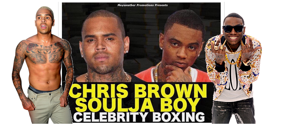 Soulja Boy training with Floyd Mayweather for Chris Brown fight