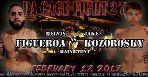 Melvis Figueroa vs. Jake Kozorosky - PA Cage Fight 27