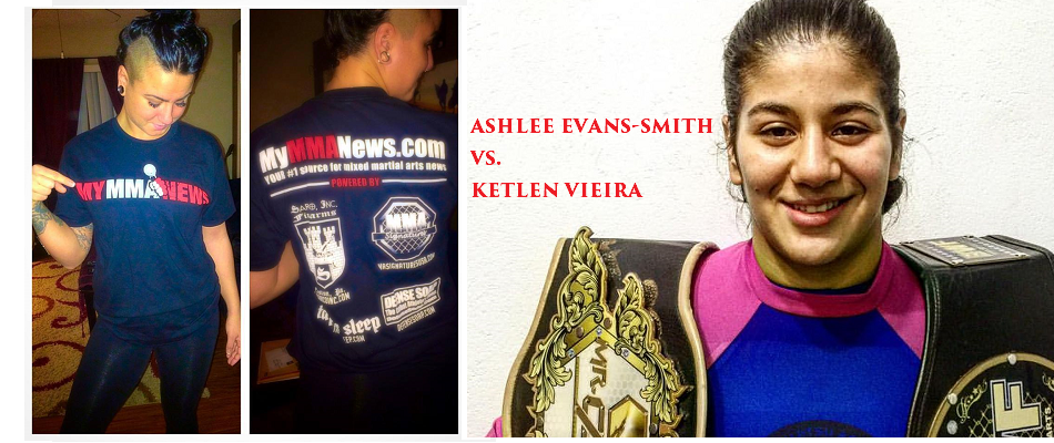 Ashlee Evans-Smith vs. Ketlen Vieira added to UFC on FOX 24