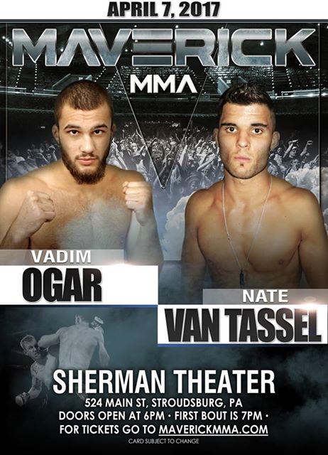 Nate Van Tassel vs. Vadim Ogar