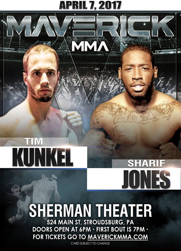 Sharif Jones vs. Tim Kunkel
