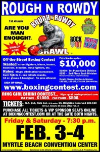 Rough N Rowdy Brawl - amateur boxing