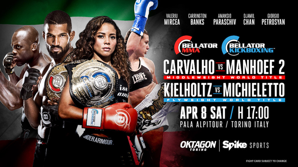 Rafael Carvalho Set to Defend Middleweight Title Against Melvin Manhoef on April 8