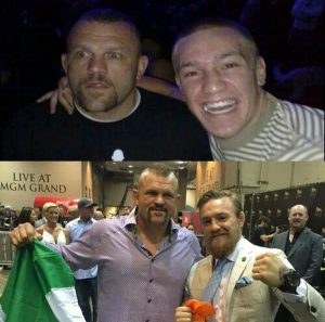 Chuck Liddell and Conor McGregor