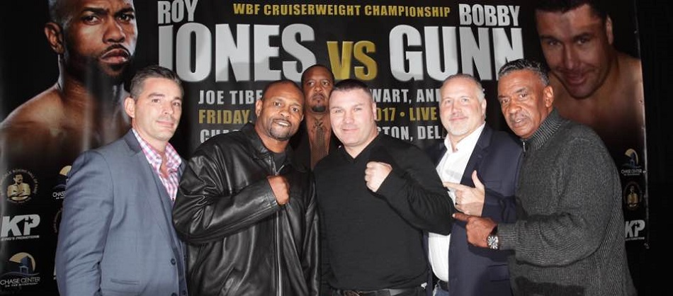 David Feldman Promotions brings legends to Delaware, Roy Jones Jr. vs Bobby Gunn