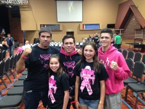 Elijah Ross and family
