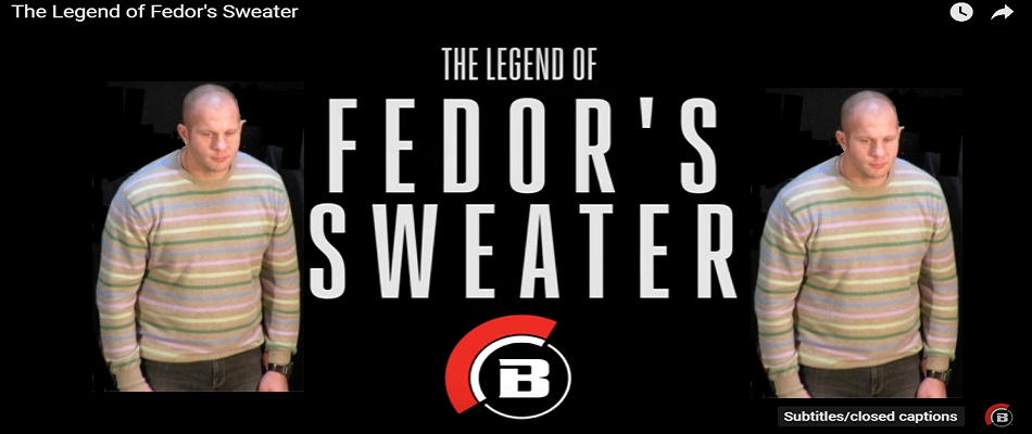 Fedor's sweater