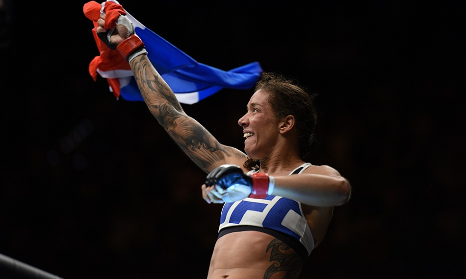 UFC champ Germaine de Randamie returns to work as police officer tomorrow