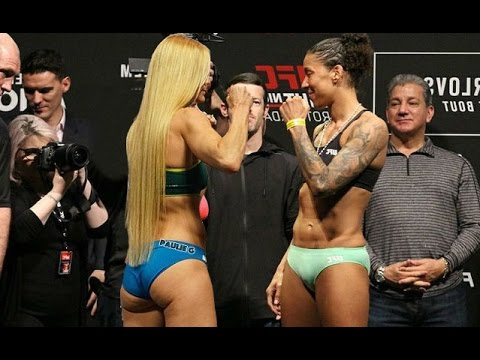 Fan created staredown between Holly Holm and Germaine de Randamie