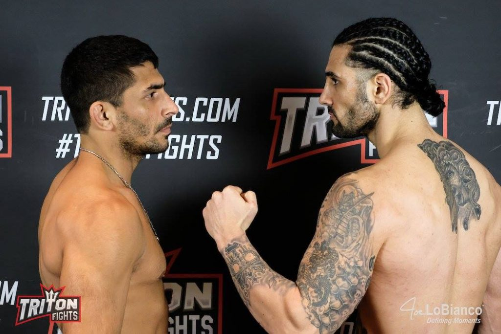 Triton Fights 1 Weigh-in Results: John Gotti vs Anthony Wolter