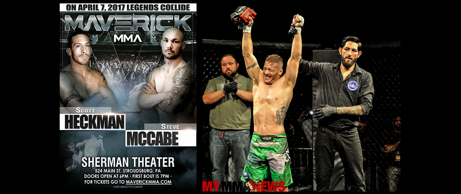 Scott Heckman out of retirement, signs with Maverick MMA