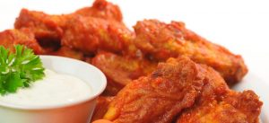 5 Must-Have Foods For Your BIG GAME Party on Sunday, hotwings, hot wings