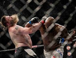Derrick Lewis vs. Roy Nelson - Photo courtesy MMA Junkie