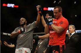 Derrick Lewis gets the win - Photo courtesy the UFC