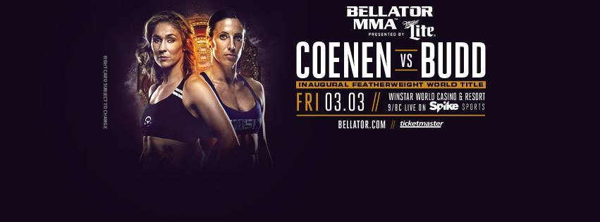 Bellator 174 - Marloes Coenen vs. Julia Budd