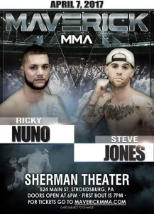 Ricky Nuno vs Steve Jones - Maverick MMA