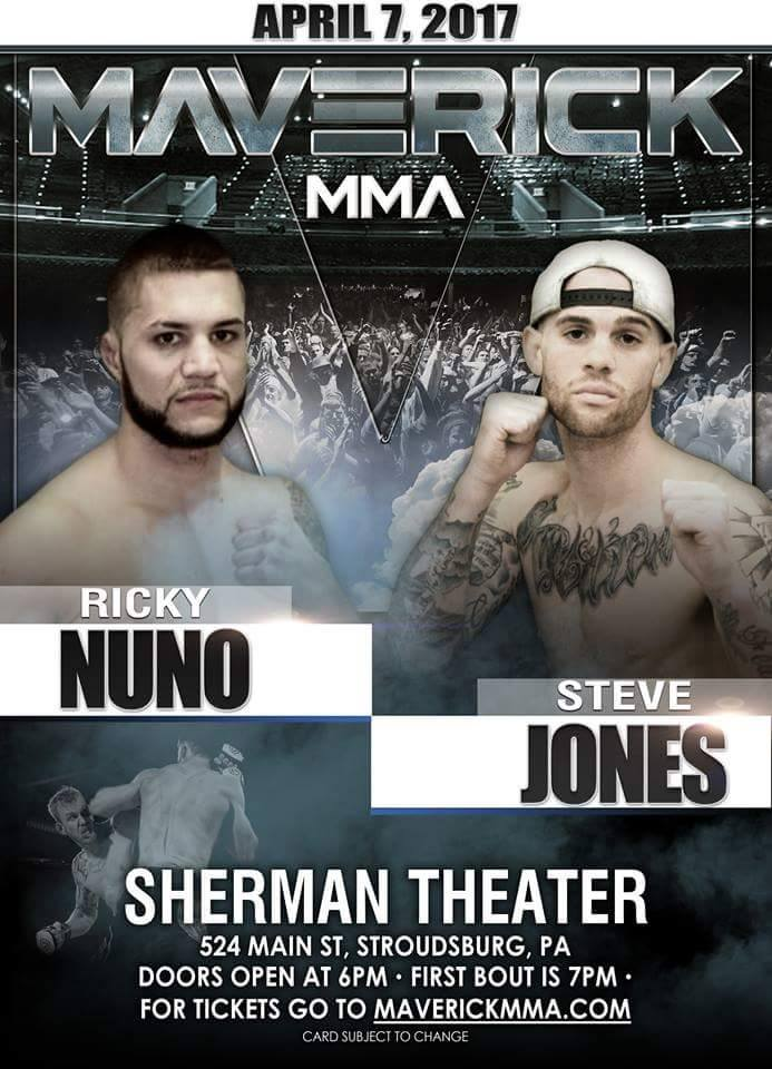 Ricky Nuno vs Steve Jones - Maverick MMA