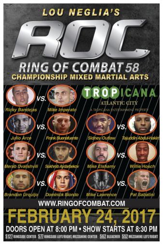 Ring of Combat 58