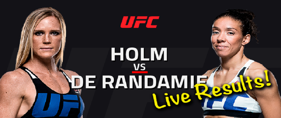UFC 208 Results:  Holm vs. de Randamie – A featherweight champion is crowned