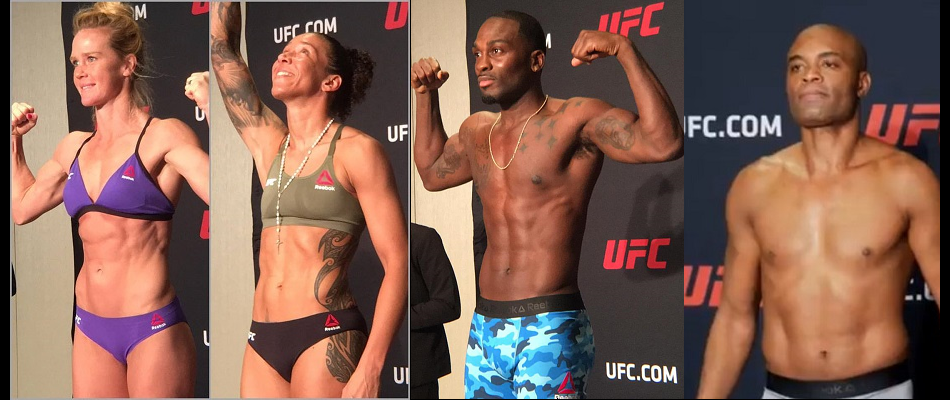 UFC 208 weigh-in results - Holm vs. de Randamie green lit for title