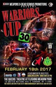 Warriors Cup