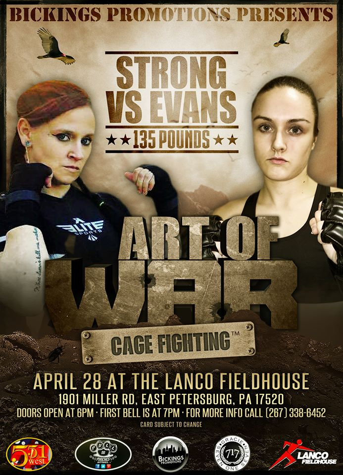 Shelby Strong vs. Bec Evans - Art of War Cage Fighting 1