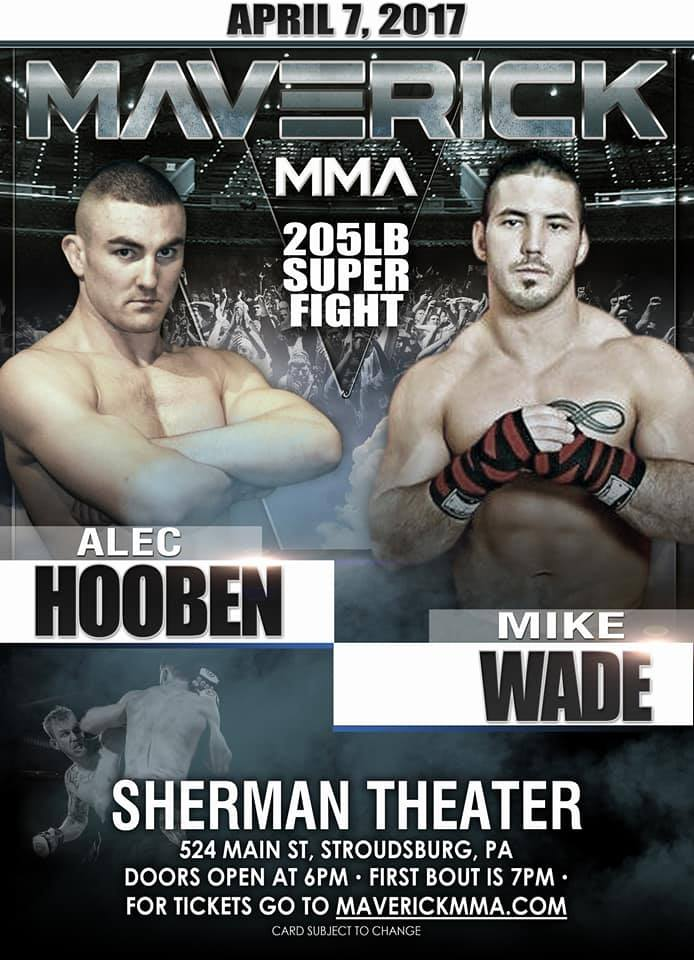 Alec Hooben vs. Mike Wade at Maverick MMA