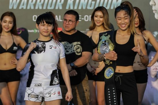 Angela Lee and Jenny Huang face off in Bangkok ahead of ONE: Warrior Kingdom