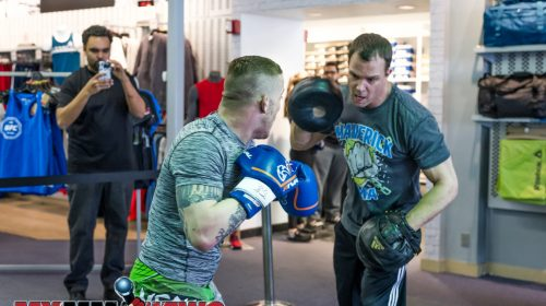 Scott Heckman - Maverick MMA Open Workouts and Press Conference at Reebok OutletScott Heckman - Maverick MMA Open Workouts and Press Conference at Reebok Outlet