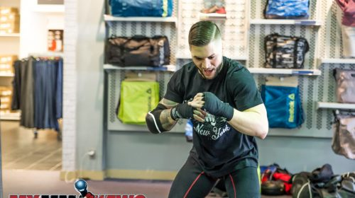 Rick Nuno - Maverick MMA Open Workouts and Press Conference at Reebok Outlet