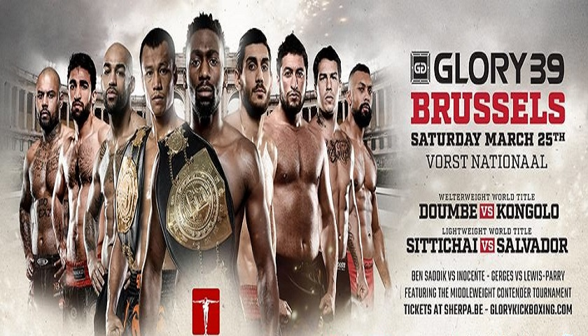 GLORY 39 Brussels Airs Live This Saturday at 4 p.m. on ESPN3