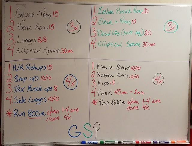 The GSP Workout - Georges St-Pierre is back. Work out like a champ