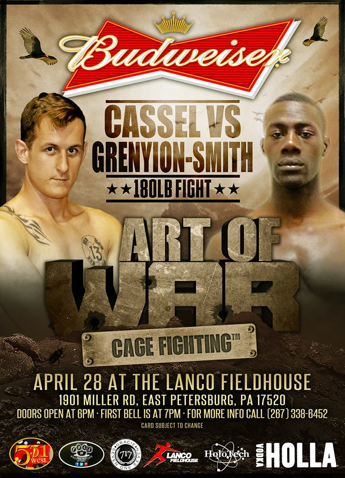Jordan Grenyion-Smith - Art of War Cage Fighting