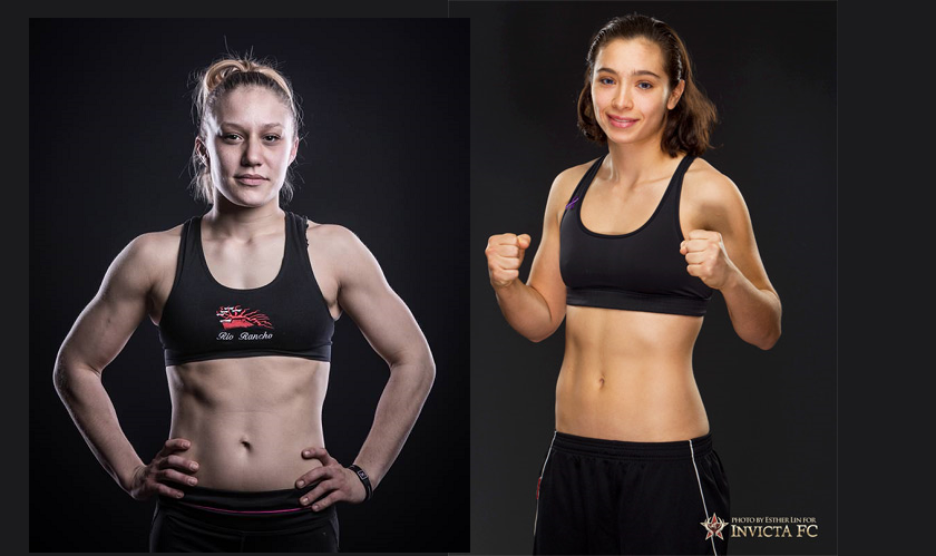 Atomweights Amber Brown and Ashley Cummins Meet at Invicta FC 22