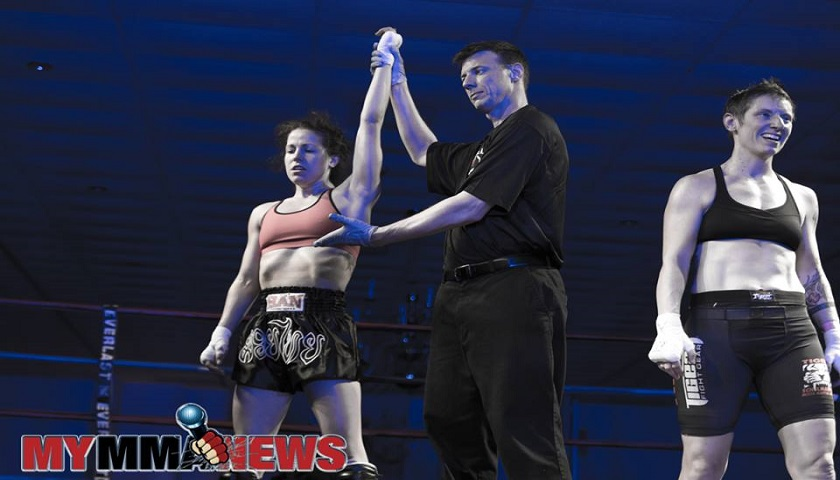 Arielle Webb - USKA Fight Night - Photo by William McKee