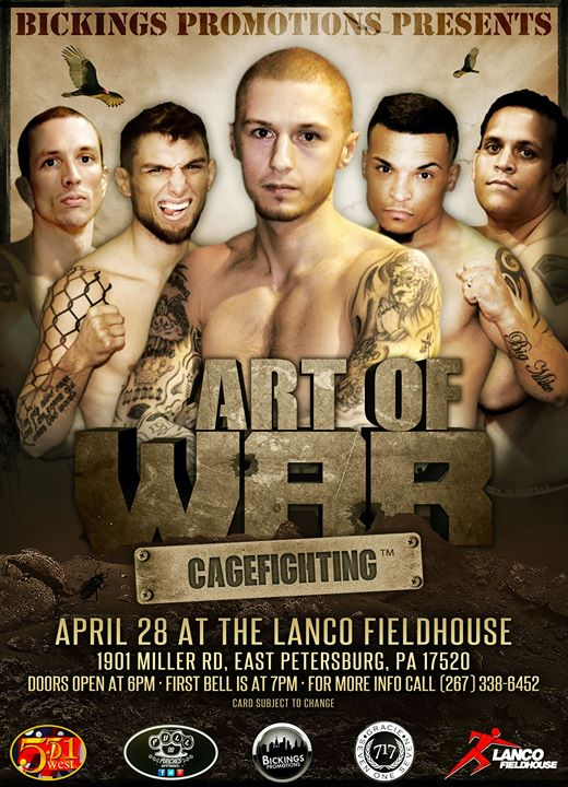 Art of War Cage Fighting 1